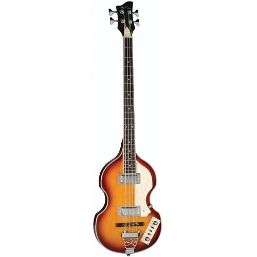 Jay Turser JTB-2B-VS 4-String Electric Violin Bass Guitar, Sunburst