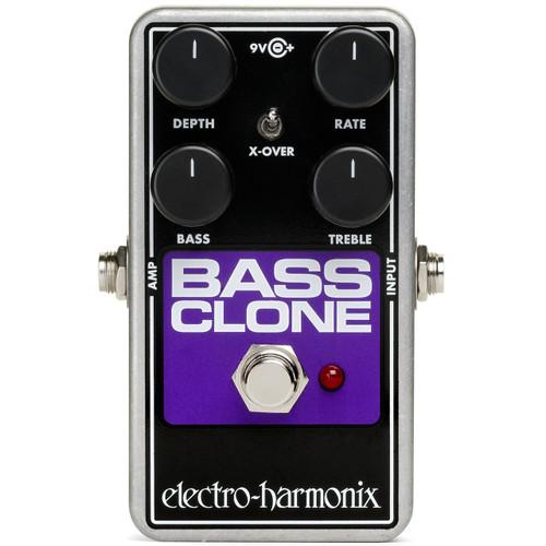 Electro-Harmonix Bass Clone Bass Chorus Effects Pedal (EHX-BASSCLONE)