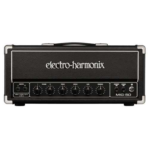 Electro-Harmonix MIG-50 Tube Powered 50-Watt Guitar Amplifier Head (MIG50)