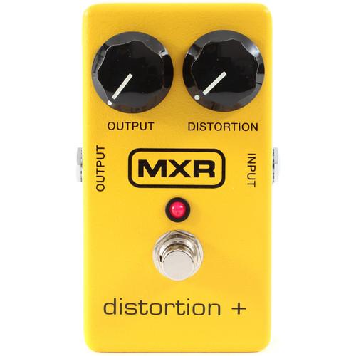 MXR M104 Distortion+ Guitar Effects Distortion Pedal