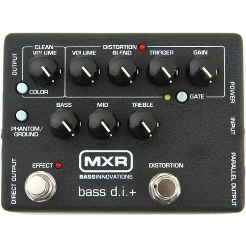 MXR M80 Bass D.I.+ Bass Distortion Pedal
