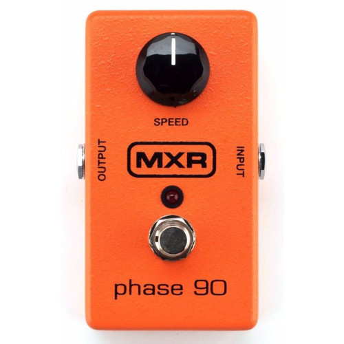 MXR M101 Phase 90 Phaser Effects Guitar Pedal, Orange
