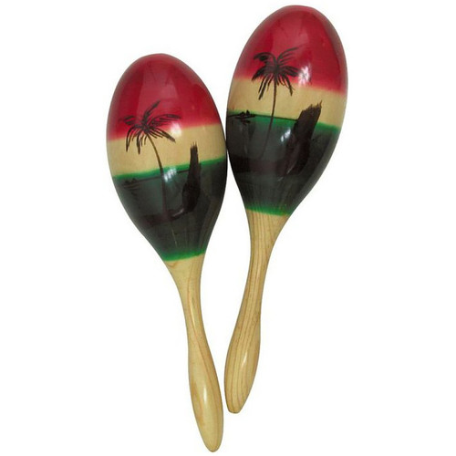 Ludwig LE2365 Wood Crafted Maracas (Pair)