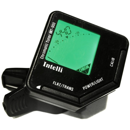 Intelli IMT-900 Clip-On Chromatic Tuner with Transposing