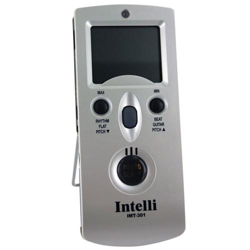 Intelli IMT-301 Digital Metronome, Chromatic Tuner, Pitch Generator, and Temperature/Hygrometer Meter (IMT301)