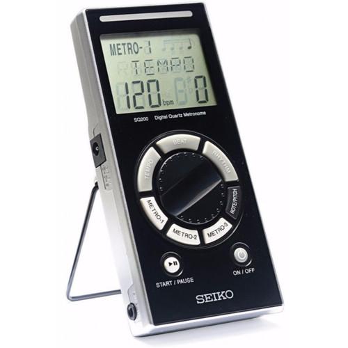 Seiko SQ200 Digital Quartz Metronome, Black