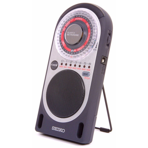 Seiko SQ70 Digital Quartz Metronome, Black