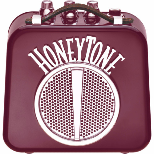 Danelectro HoneyTone N-10 Mini Guitar Amplifier, Burgundy