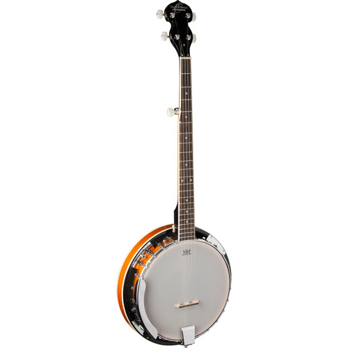 Oscar Schmidt OB4 Bluegrass 5-String Resonator Banjo, Natural
