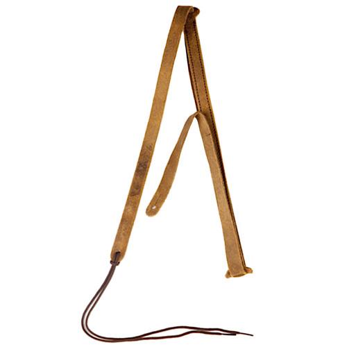 Gretsch G Brand Suede Leather Mandolin Strap, Brown (922-0080-101)