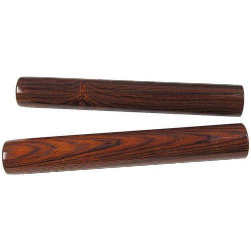 Ludwig LE-2368 Medium Rosewood Claves, 1-Pair (LE2368)