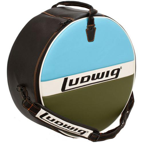 "Ludwig LX614BO Atlas Classic Heirloom Snare Drum Bag, 6.5"" x 14"""