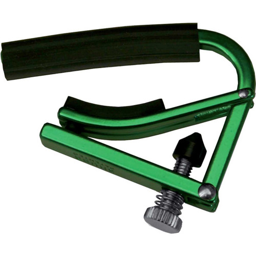 Shubb L1GRN Lite Capo for Steel String Acoustic & Electric Guitars, Green