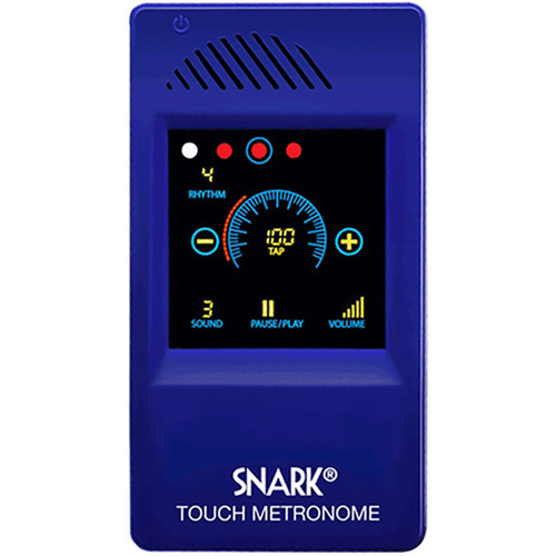Snark SM-1 Digital Touch Screen Metronome, Blue