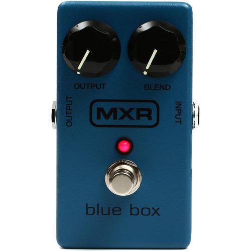 MXR M103 Blue Box Octave Fuzz Effects Pedal