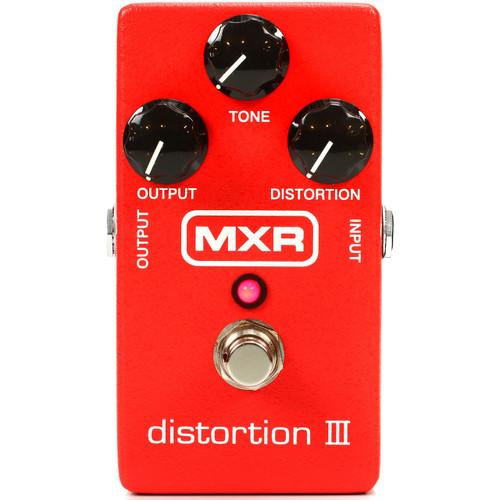 Dunlop MXR M115 Distortion III Guitar Effects Pedal (MXR-M115)