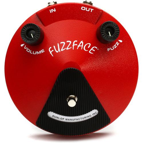 Dunlop JDF2 Fuzz Face Distortion Guitar Effects Pedal - Classic Fuzz Face Distortion