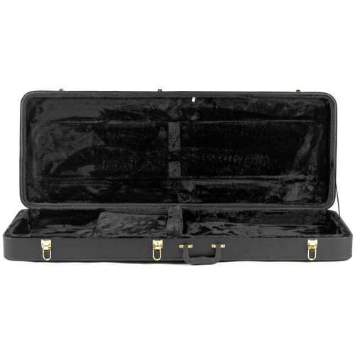 Guardian CG-020-X Hardshell Case for Explorer/Firebird Style Electric Guitar, Black