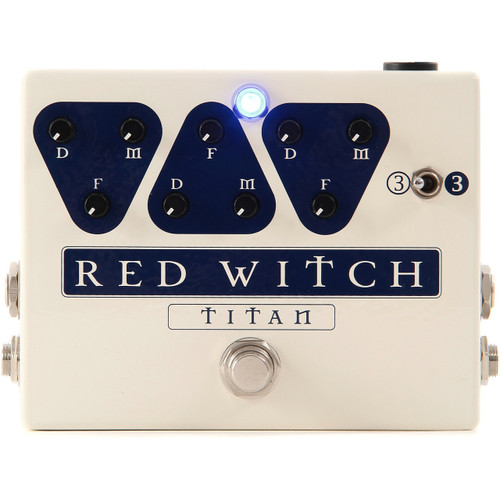Red Witch TITAN Triple Delay Guitar Effects Pedal