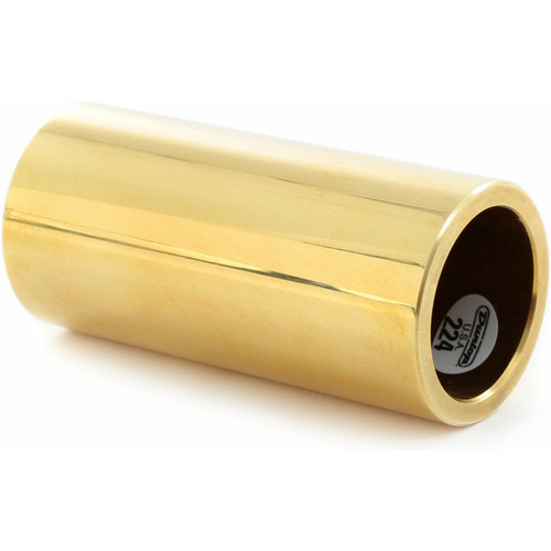 Dunlop 224 Solid Brass Guitar Slide, Heavy Wall Thickness, Medium