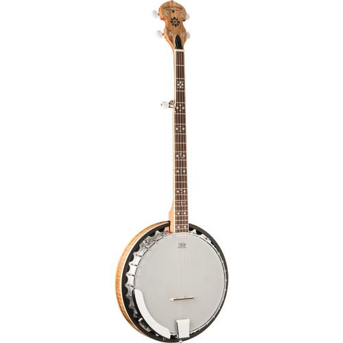 Oscar Schmidt OB5SP 5-String Spalted Maple Resonator Banjo (OB5SP)