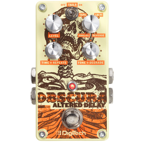 DigiTech Obscura Altered Delay Gutiar Effects Pedal