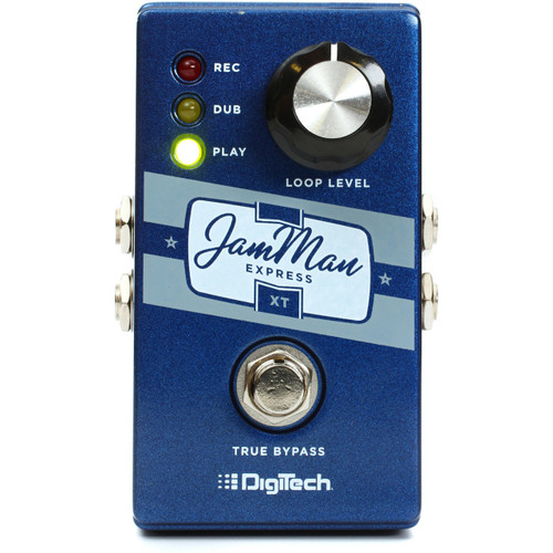 DigiTech JMEXTV JamMan Express XT One Knob Looper Guitar Effects Pedal
