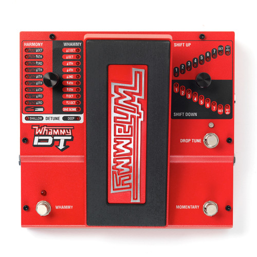 DigiTech Whammy DT Pitch Shift Drop Tune Guitar Effects Pedal with Tone Mod