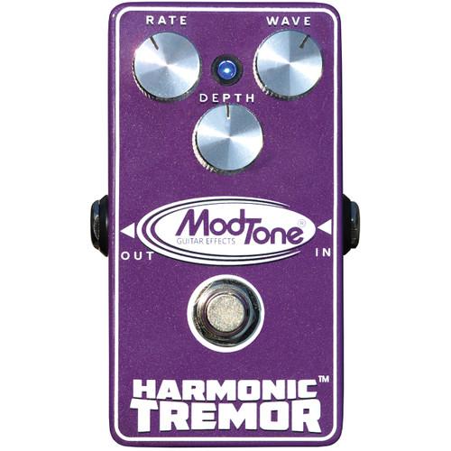 ModTone Harmonic Tremor Vintage Tremolo Guitar Effects Pedal, MT-TR