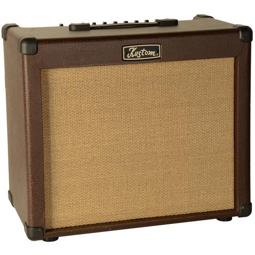 Kustom Sienna 65 Pro Combo Amp 65-Watt Acoustic Guitar Amplifier, SIENNA65PRO