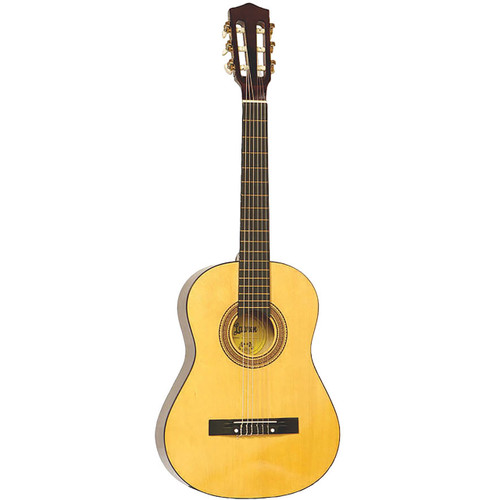 Lauren LA34 Student 3/4 Size Steel String Classical Acoustic Guitar, Natural