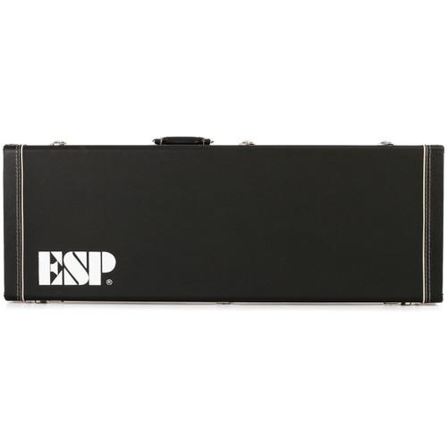 ESP LTD EC-Series Electric Guitar Form Fit Hardshell Case, Black CECFF