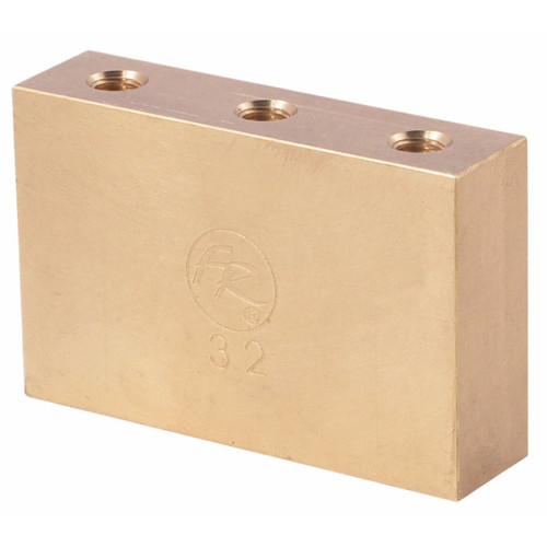 Floyd Rose FROFTB32 Original Fat Brass Tremolo Block, 32mm