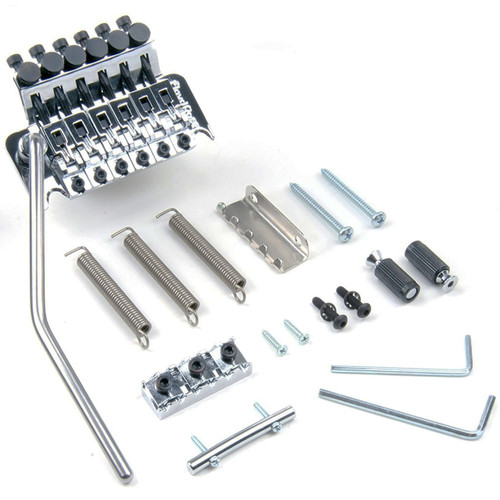 Floyd Rose FRT100R3 Original Series Tremolo System with R3 Nut, Chrome