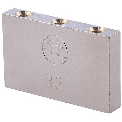 Floyd Rose Original Series 32mm Sustain Block - Nickel Plated Brass, FROTB32P