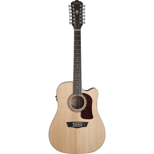 Washburn HD10SCE12 Dreadnought Cutaway 12-String Acoustic Electric Guitar (HD10SCE12)