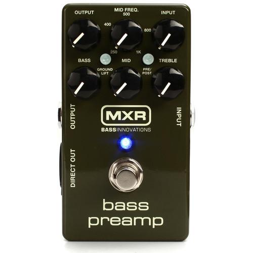 MXR M81 Bass Guitar Preamp Pedal with 3-Band EQ (MXR-M81)