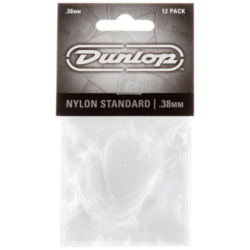 Dunlop 44P.38 Nylon Standard .38mm Guitar Picks, 12 Pack