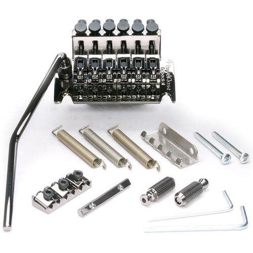 Floyd Rose FRTS5000R3 Special Series Tremolo System with R3 Nut, Black Nickel