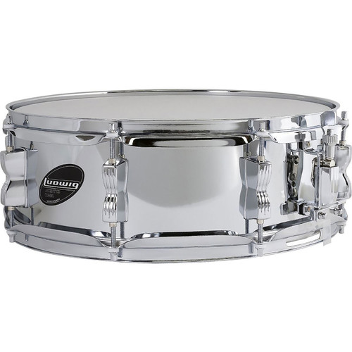 "Ludwig Accent Series LC054S Steel Shell 5""x 14"" Snare Drum"