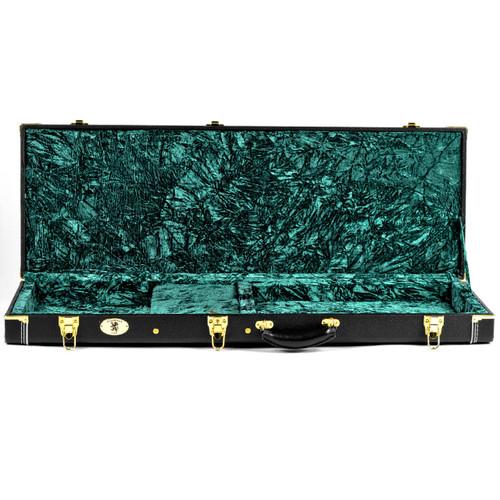 Guardian CG-044-E Vintage Hardshell Case for Electric Guitar, Black