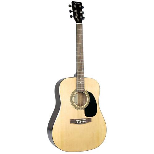 Johnson JG-620-N Player Series Dreadnought Acoustic Guitar, Natural