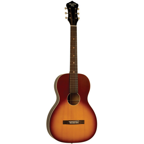 Recording King RPS-9-TS Dirty 30's Solid Top Acoustic Guitar, Tobacco Sunburst