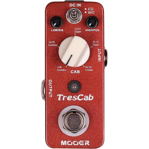 Mooer Micro Series TresCab Speaker Cab Simulator Guitar Effects Pedal, MTC1