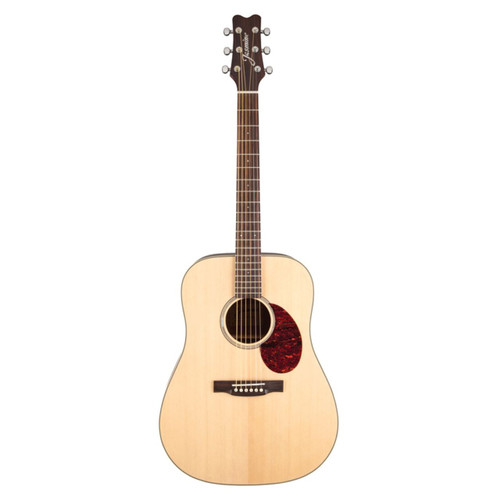 Jasmine by Takamine JD37 Solid Top Dreadnought Acoustic Guitar, Natural (JD37-NAT)
