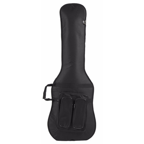 Guardian CG-100-B DuraGuard Padded Gig Bag for Electric Bass Guitar, Black