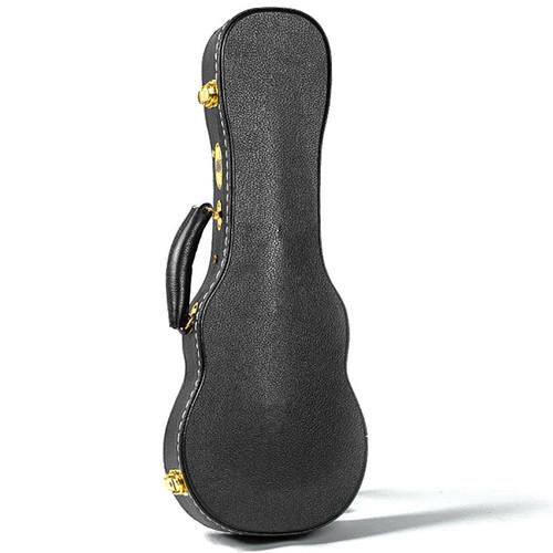 Guardian CG-044-UC Vintage Hardshell Case for Concert Ukulele, Black