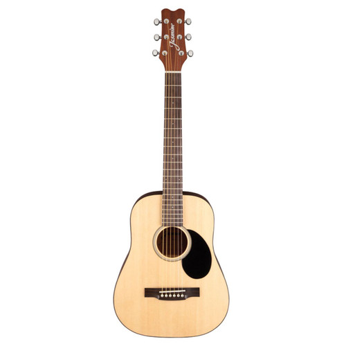 Jasmine by Takamine JM10 Mini Dreadnought Acoustic Guitar with Gig Bag, Natural (JM10-NAT)