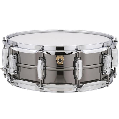 Ludwig USA LB416 Black Beauty 5x14 Snare Drum with Imperial Lugs, Black Nickel