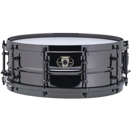 "Ludwig LW5514 Black Magic Snare Drum with Black Chrome Hardware & Tube Lugs, 5.5""x14"""